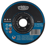 TYROLIT - Inovations - Timeline - More comfort with the Comfort Start rough grinding wheel