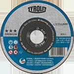 TYROLIT - Inovations - Timeline - More abrasiveness and a longer lifetime with CERABOND
