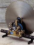 TYROLIT - Inovations - Timeline - First fully hydraulic wall saw