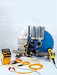 TYROLIT - Inovations - Timeline - First electric small wall saw