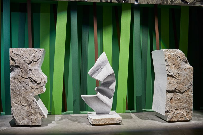 TYROLIT - Stories - Italian Stone Theatre: TYROLIT plays a leading role in Verona's art exhibition